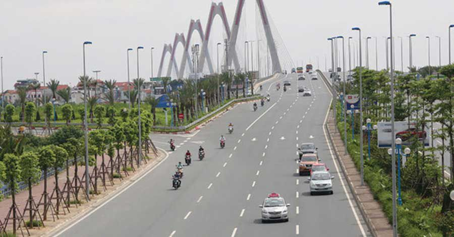 Road costs in Vietnam are expensive compared to the world