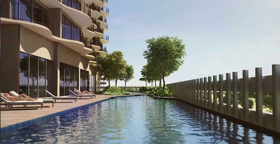 Waterina Suites project