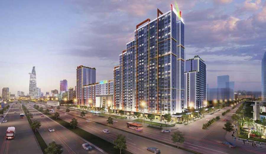 Thu Thiem New City apartment project