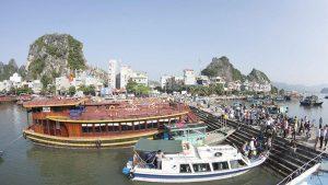 A corner of Van Don Island, Quang Ninh