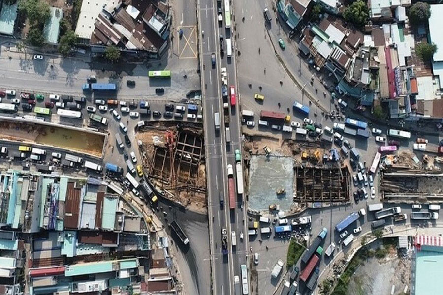 An Suong intersection