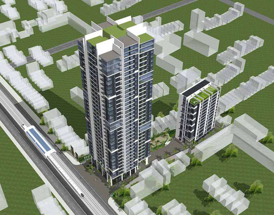 Cheap apartment project in Cau Giay district