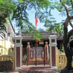 The historical stories were assisted with 3 temples in Hoi An
