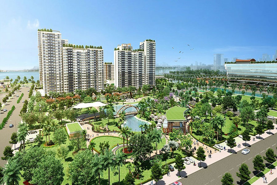 Friendly design, buildup in New City, Thu Thiem
