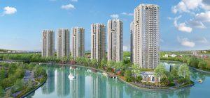 Perspective model apartment Gem Riverside