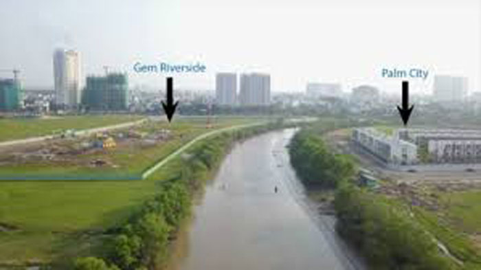 Overall perspective of the Gem Riverside project