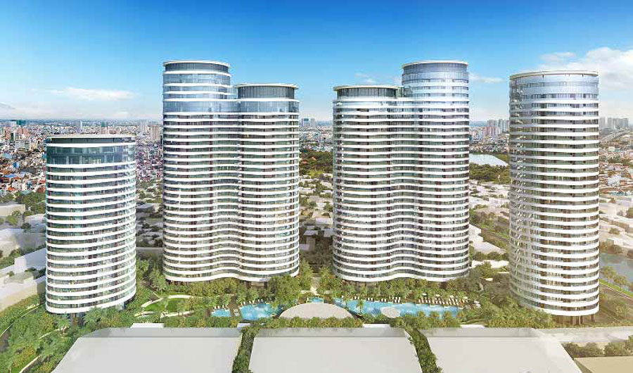 High-end condominium projects