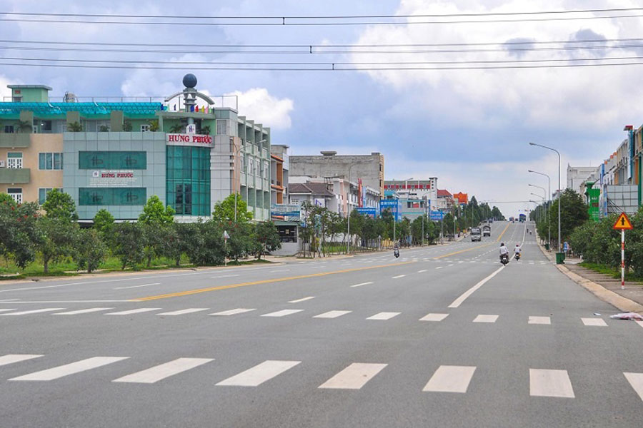 Land prices in Dong Nai