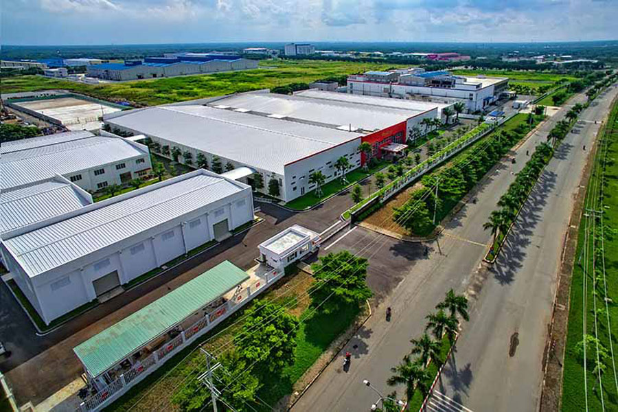Land prices in industrial parks