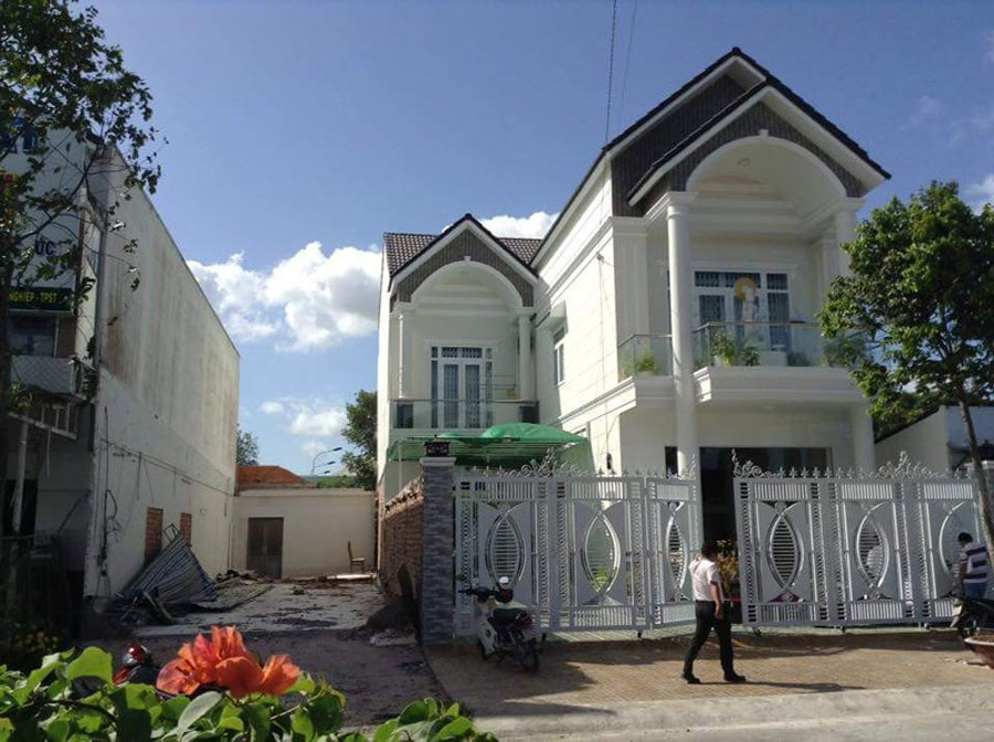 Mr. V.'s villa in Soc Trang