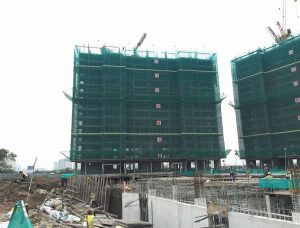 Palm Heights Division: Construction to the 14th floor of Tower 1