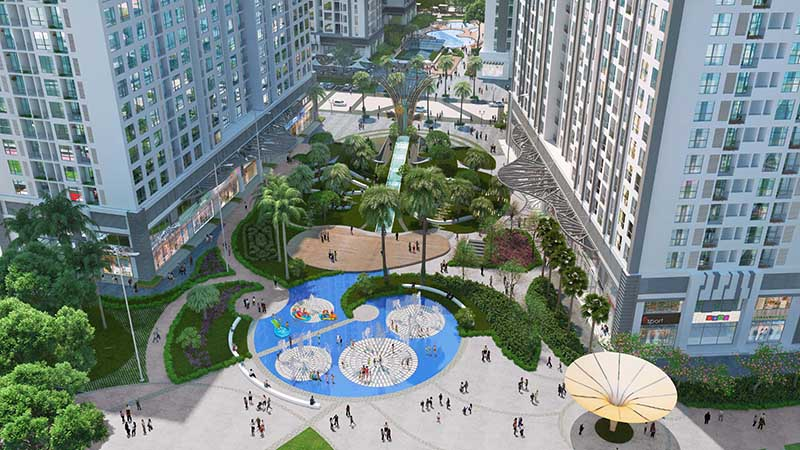 Perspective of Park Hill Premium project