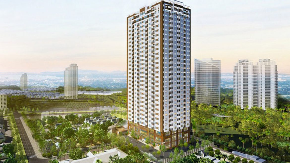 Perspective of Starup Tower project.