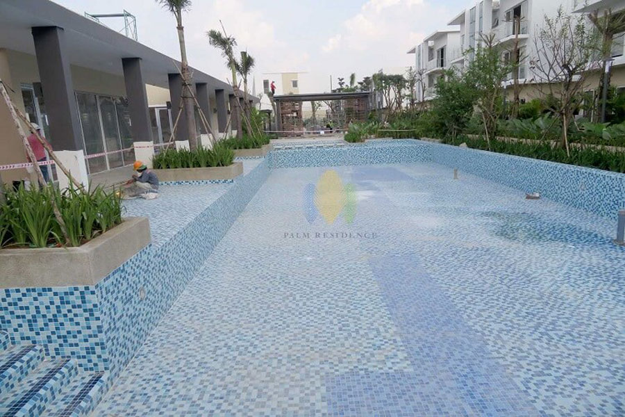 Pool utility is gradually perfected