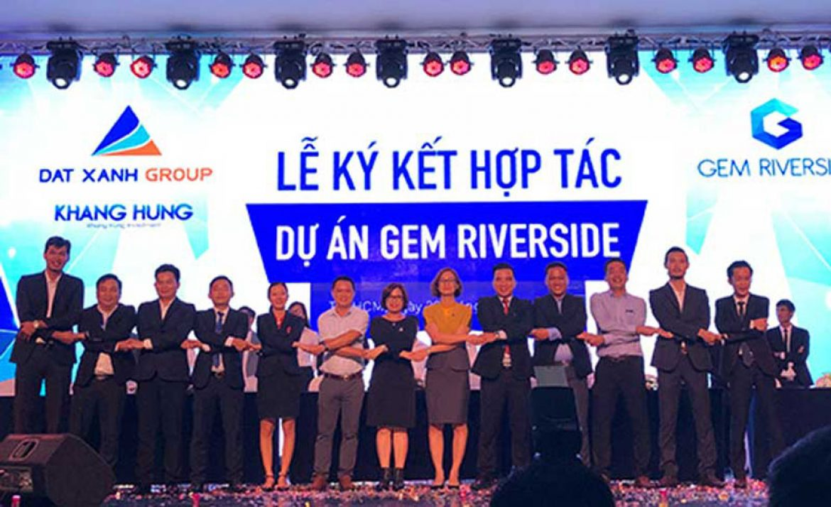 Signing Ceremony of gem riverside project