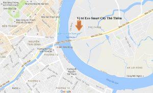 Strategic location of Thu Thiem urban area, District 2