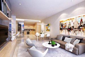 Super luxury utilities in Ha Do Apartment Z756 Saigon.