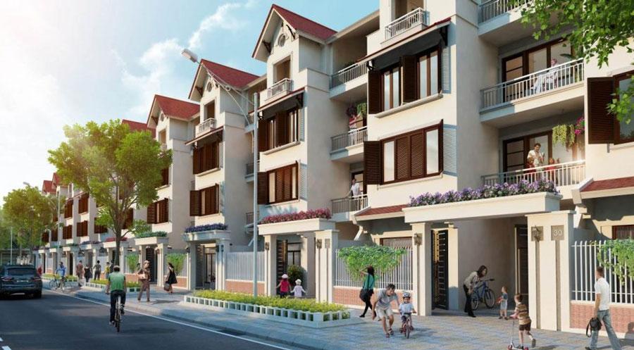The adjacent villa project 90 Nguyen Tuan