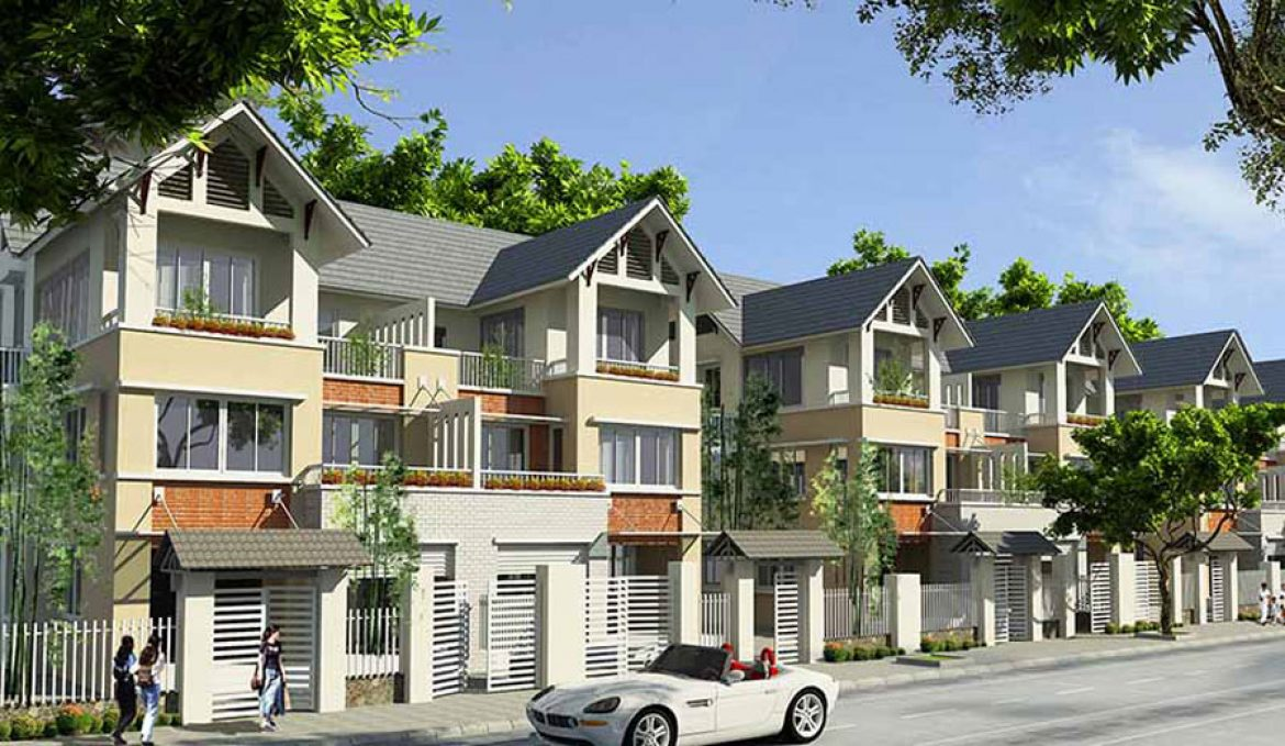 The supply of villas -townhouses