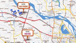 West of Hanoi is going to become the new economic center