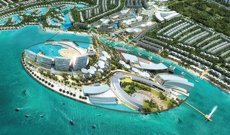 Overview of the project Sunrise Bay Beach Villas Da Nang