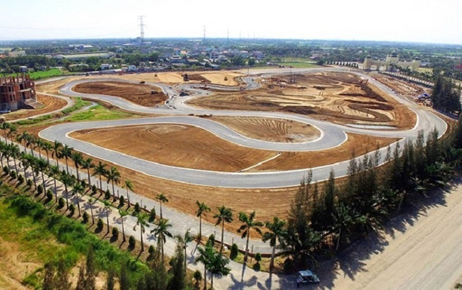 project of Rach Chiec Sports Complex