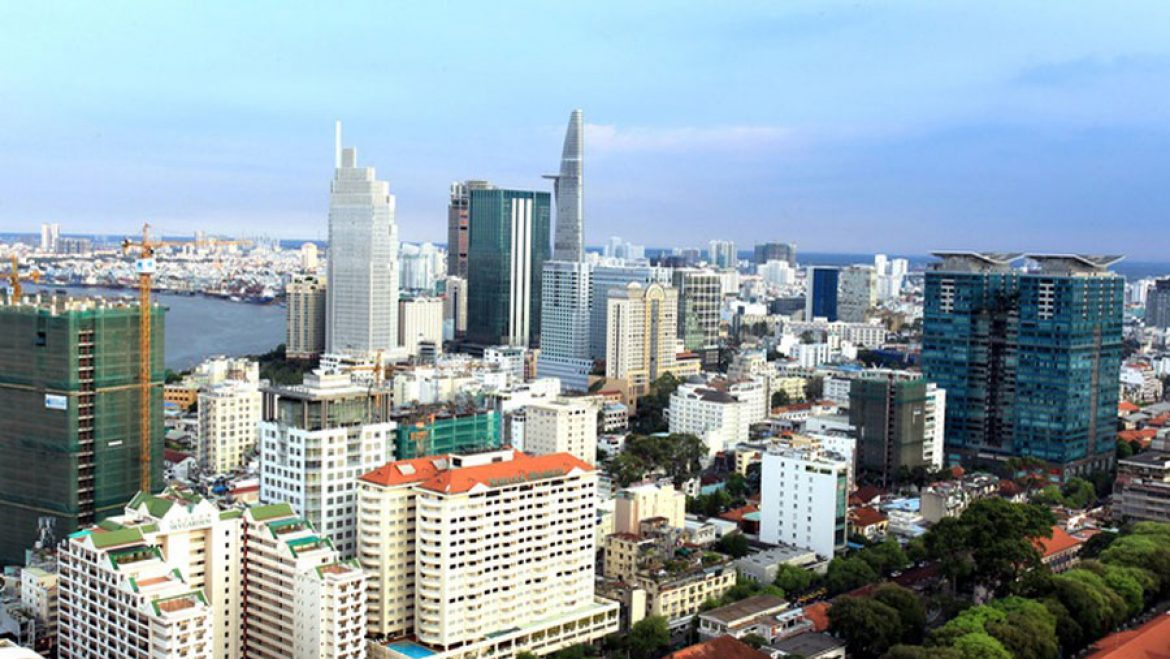 the real estate in HCMC