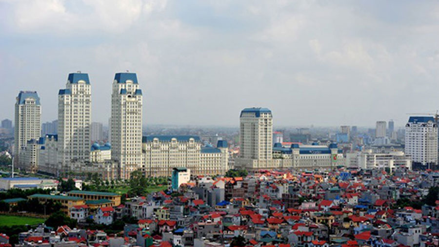 the real estate in Hanoi
