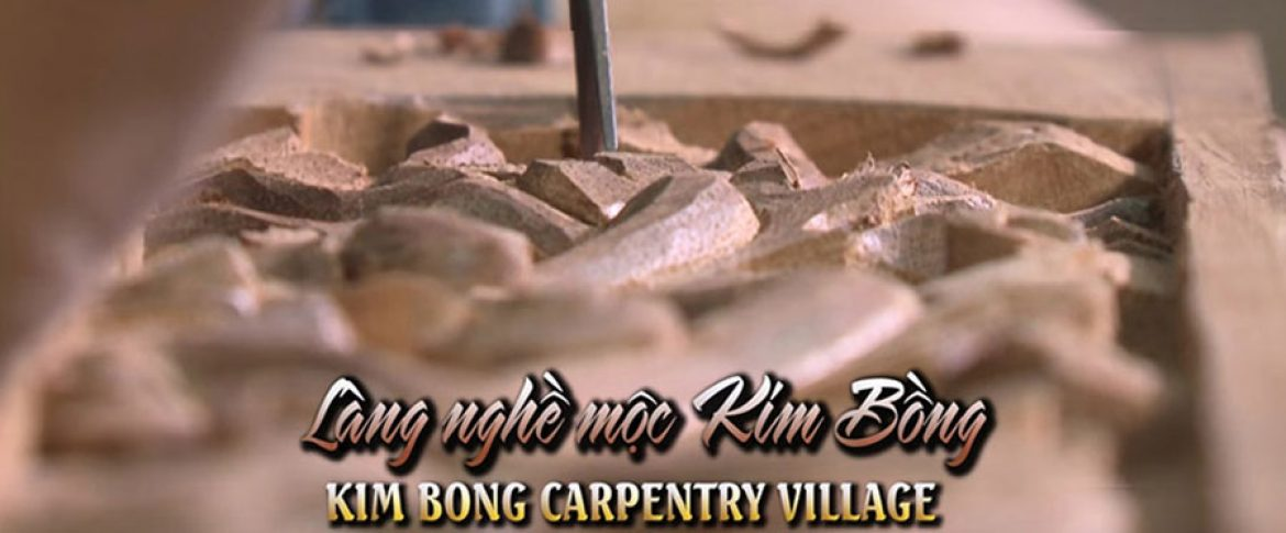 Kim Bong carpentry village is also preserved and handed down