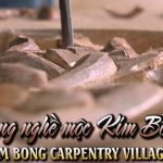 The history of the traditional wooden carpentry village