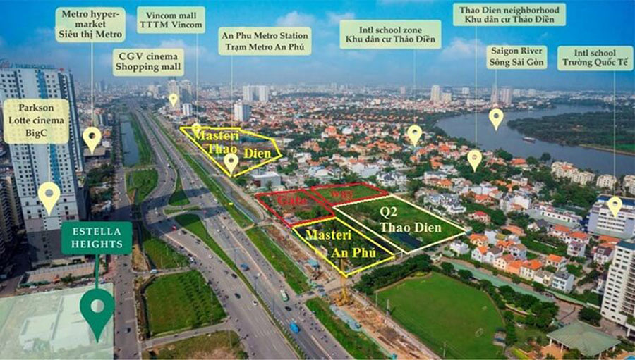 Location Q2 Thao Dien