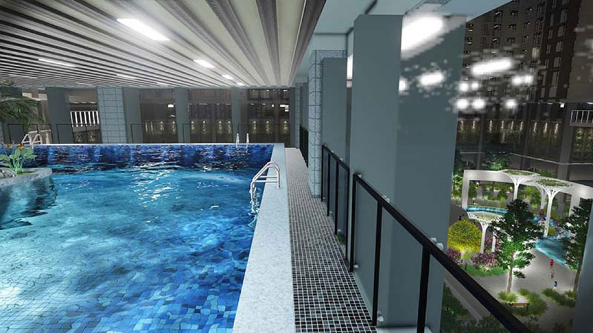 Swimming pool is only available at Eco Green Sai Gon