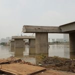 The bridge over Diamond Island can be completed before April 30?