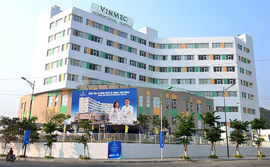 The international hospital system around Palm Garden Hotel