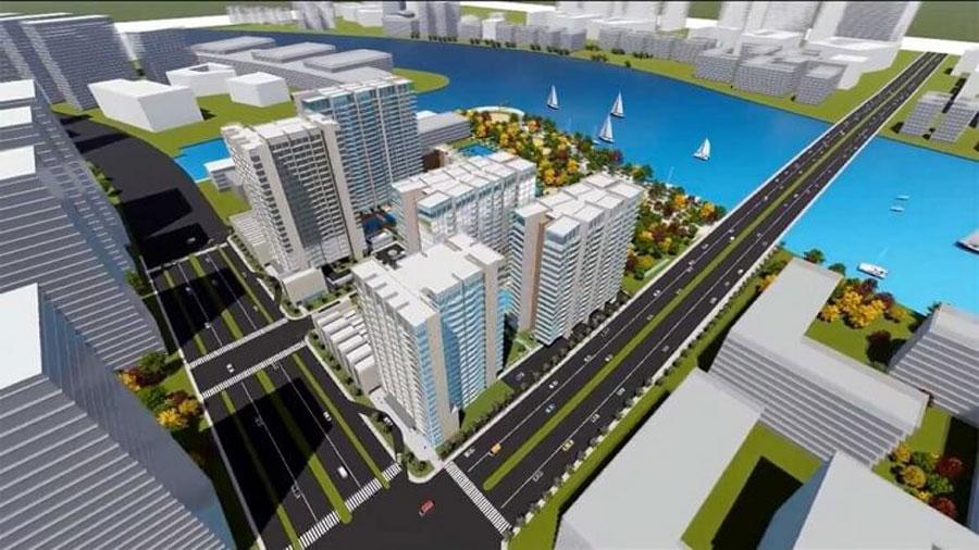 Thu Thiem River Park apartment project