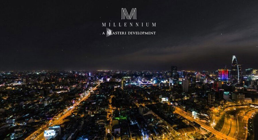 View the actual view from Masteri Millennium apartment