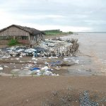 Oil is lumped to pour in Ben Tre beach