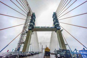 Bach Dang bridge is over VND 7,000 billion connecting Quang Ninh - Hai Phong.