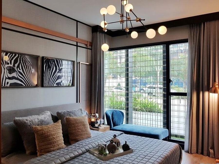 Bedroom design apartment project De La Sol