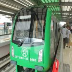 In October, the first metro of Vietnam will operate