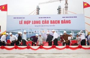 Chairman of National Assembly attended the Bach Dang Bridge
