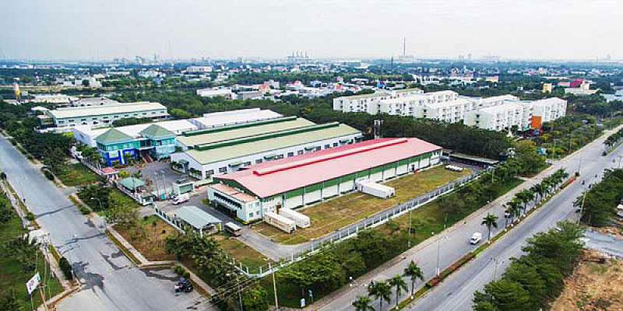 Cluster of industrial parks mushrooms in Nhon Trach - Dong Nai