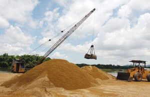 Construction sand prices have changed dramatically