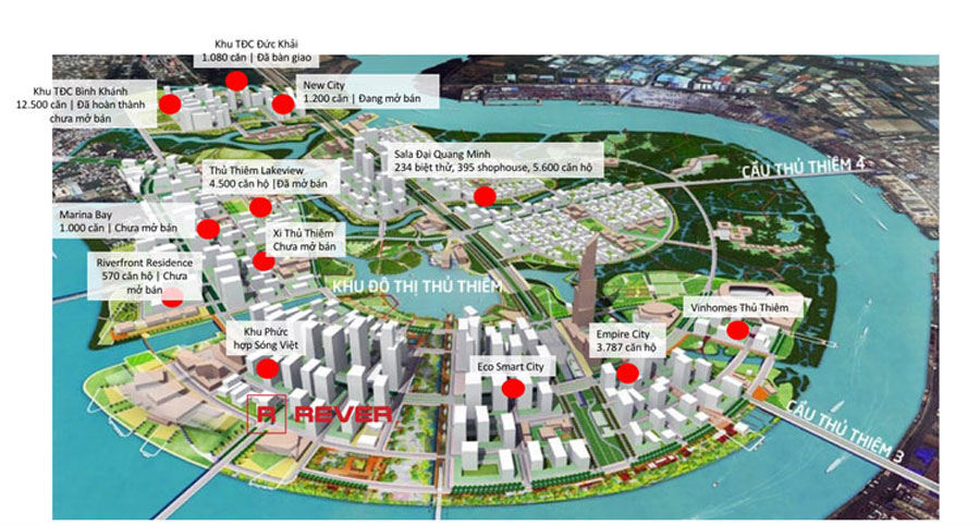 GS E & C is the investor of the Xi Thu Thiem housing complex