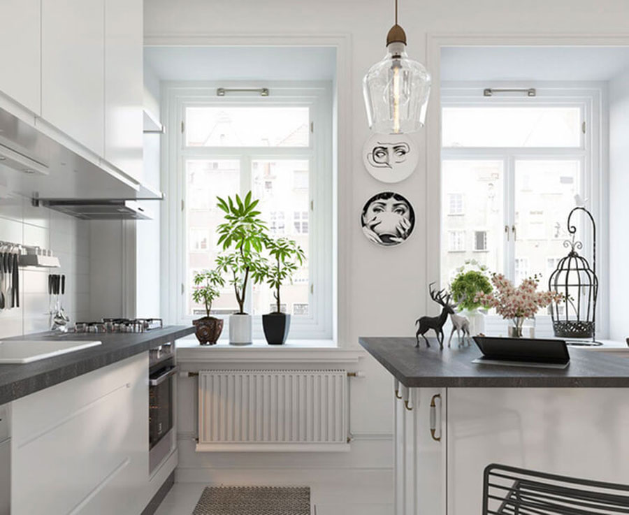 Decor one bedroom apartment in nordic style - One bedroom apartment decor ...