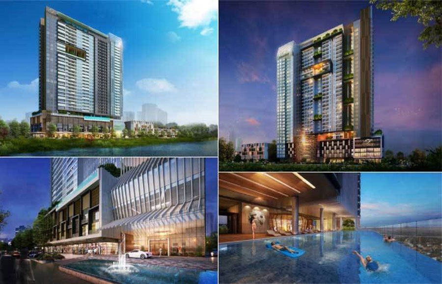 Living for residents at Fraser q2 Thao Dien project