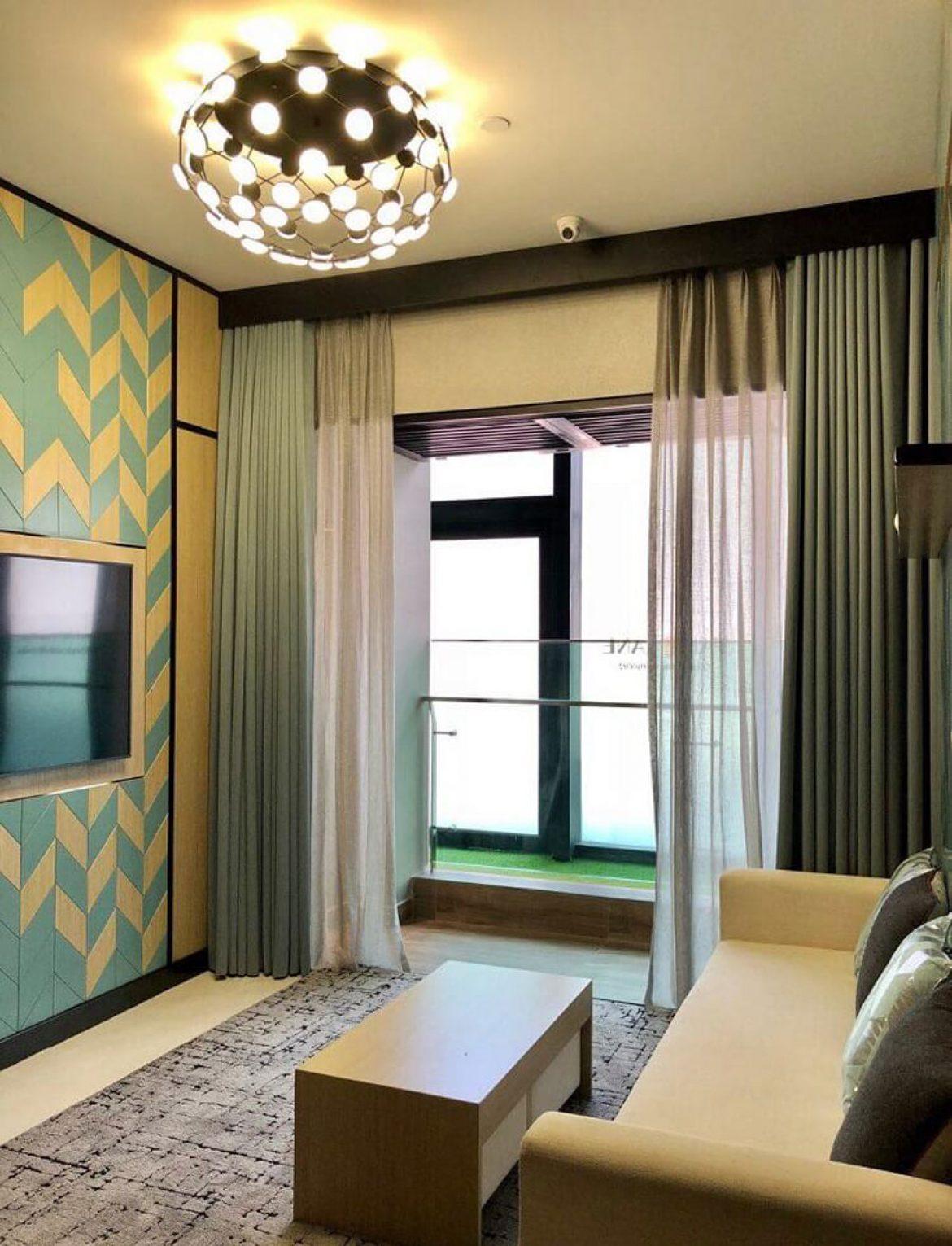 Living room design model De La Sol project