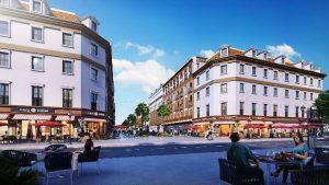 Morocco shophouse division of the Sun Plaza Grand World project.