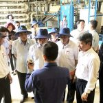 National Assembly delegation visited, worked the rubbish in Da Phuoc