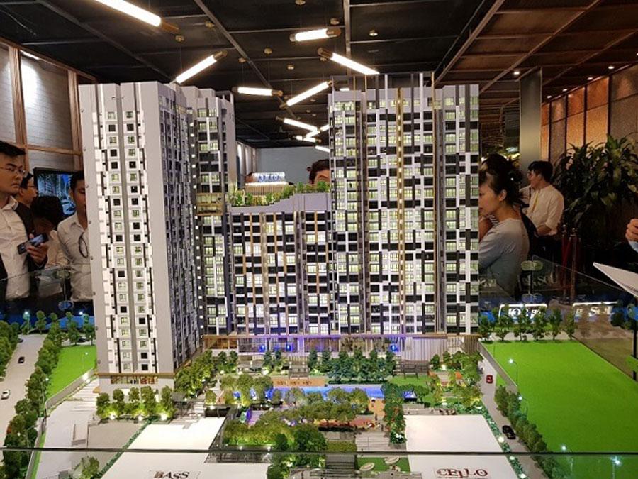 Pictures of apartment project De La Sol District 4.